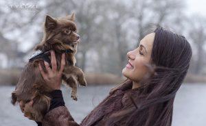 Fatma og Chihuahua
