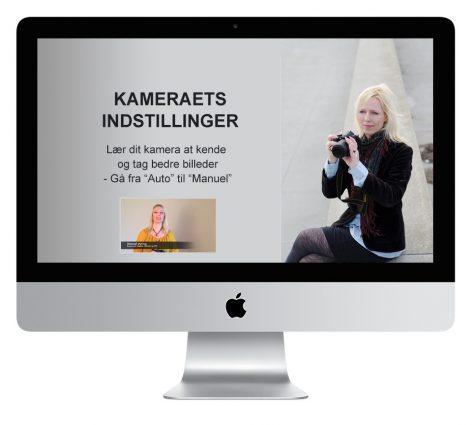 Online fotokursus kameraets indstilling