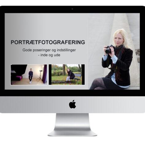 Online fotokursus portrætfotografering